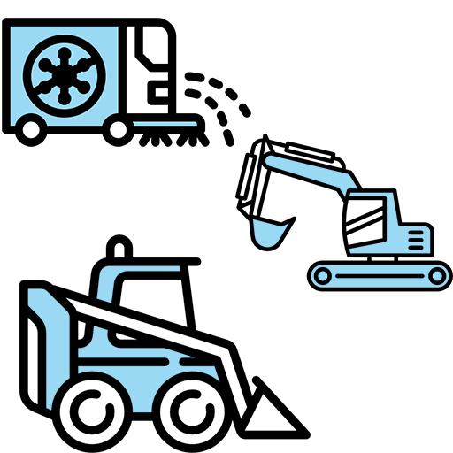 Masini municipale / Mini incarcatoare / Mini excavator
